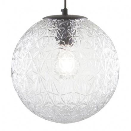Подвесной светильник шар из стекла