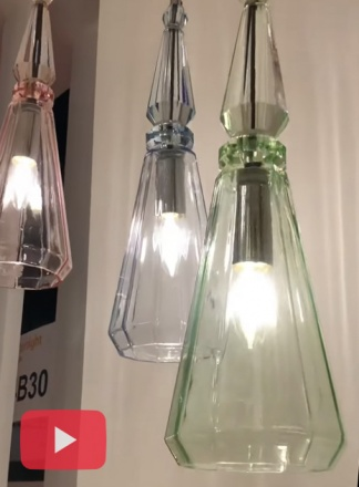Подвесной светильник P028PL-01GN [Фото №5]