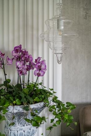 Подвесной светильник (цвет матовый белый, прозрачный)