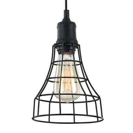 Светильник-лампа с решеткой из прутков