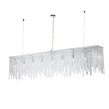 Подвесной светильник (хром)