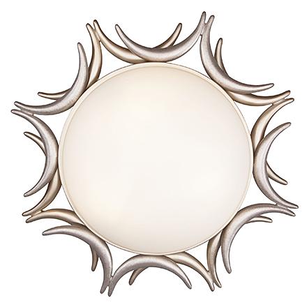 House Cima 3: Потолочный светильник солнце 3 лампы (золото, белый)