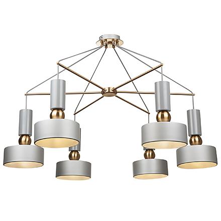 Подвесной светильник (цвет серый)