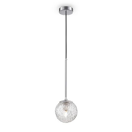Подвесной прозрачный плафон шар
