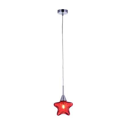 Светильник красная звездочка