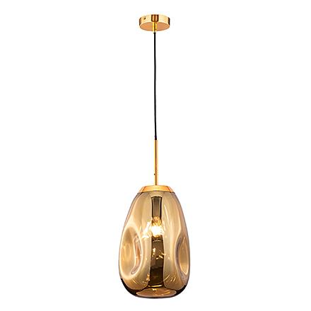 Подвесной плафон мятый (золото)