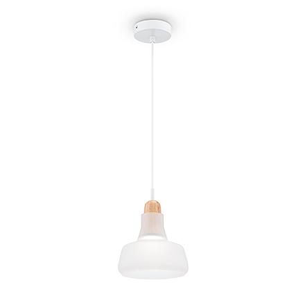 Подвесной светильник (матовый белый)