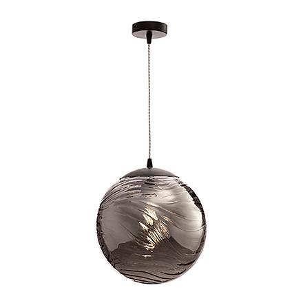 Подвесной светильник цвет матовый черный/дымчатый [Фото №2]