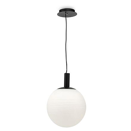 Подвесной светильник шар (цвет черный, белый)