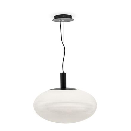 Подвесной светильник сфера (цвет черный, белый)