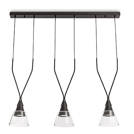 Подвесной светильник (цвет черный, прозрачный)