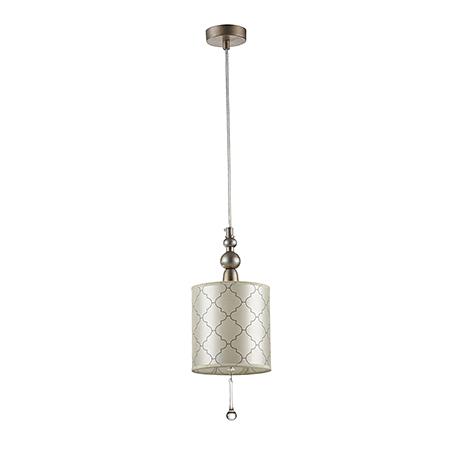 Подвесной светильник цвет серебро антик [Фото №2]
