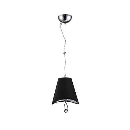Подвесной светильник цвет хром/черный [Фото №2]