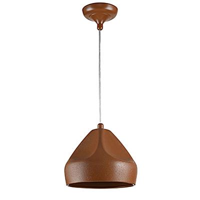 Подвесной светильник из керамики (цвет коричневый)