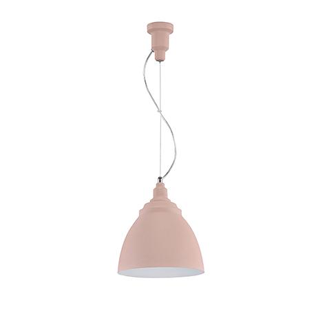 Подвесной светильник цвет розовый [Фото №2]
