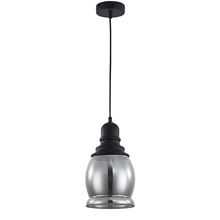 Подвесной светильник (цвет черный, дымчатый)