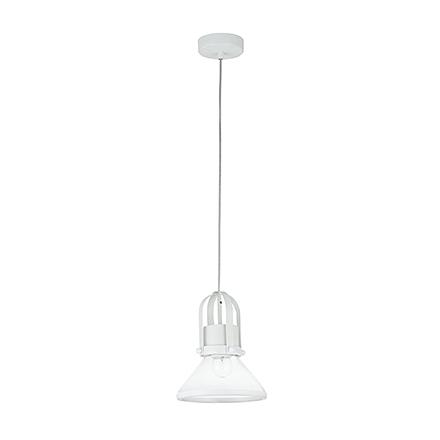 Подвесной светильник цвет белый/прозрачный [Фото №2]