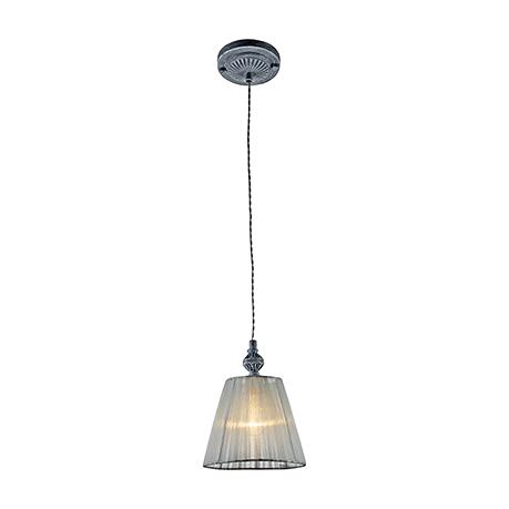 Elegant Monsoon 1: Подвесной светильник-абажур из органзы (цвет серый)