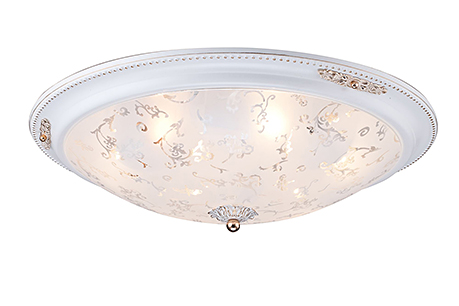Ceiling & Wall Diametrik 6: Потолочный светильник с диаметром более 50 см. (цвет белый с золотом)