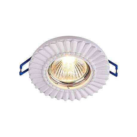 Downlight Gyps Classic 1: Гипсовый точечный светильник (цвет белый)