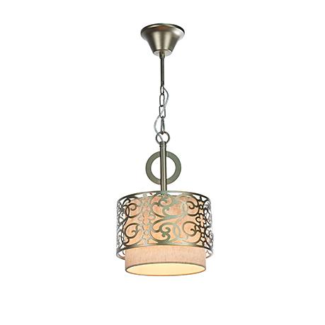 Подвесной светильник-абажур диаметр 23 см. (латунь)