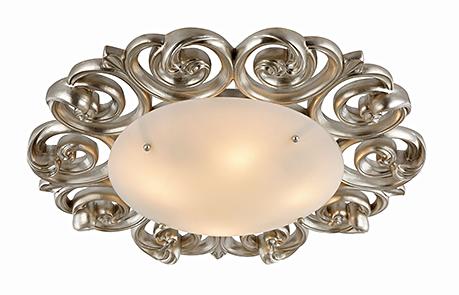 House Lantana 4: Потолочный светильник в стиле ар-деко под золото