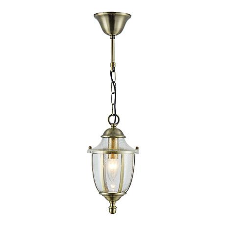Подвесной светильник в английском стиле (бронза)