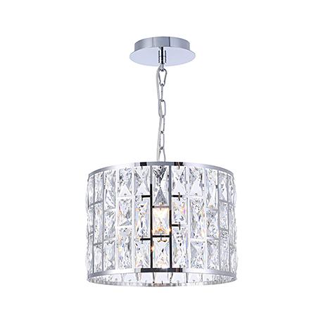 Подвесной светильник с гранеными кристаллами хрусталя