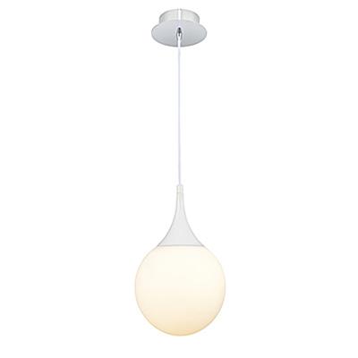 Подвесной светильник шар 20 см. (цвет белый)