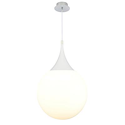 Подвесной светильник шар 40 см. (цвет белый)