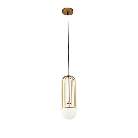 Подвесной светильник в современном стиле Д=12 см. (золото)