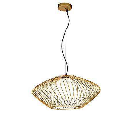 Современный подвесной светильник диаметр 52 см. (золото)