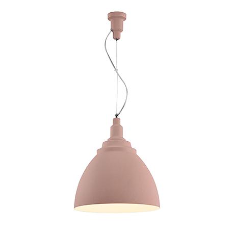 Подвесной светильник конус диаметром 35 см. (цвет розовый)