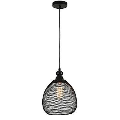 Светильник из сетки в стиле лофт