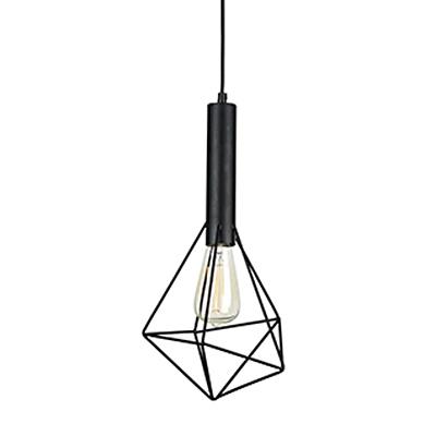 Светильник из прутков в стиле лофт