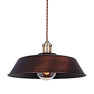 Подвесной светильник в стиле промышленного ретро (цвет коричневый)