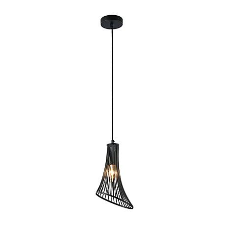 Подвесной светильник воронка из прутков