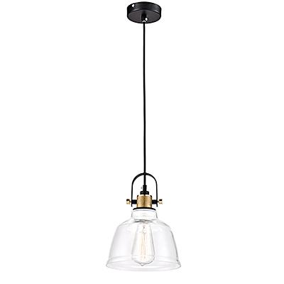 Подвесной светильник из стекла в стиле ретро-лофт