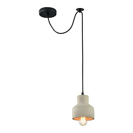 Подвесной светильник из бетона