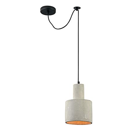 Бетонный подвесной светильник