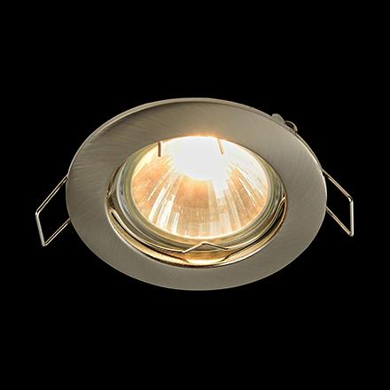 Metal Modern 1: Встраиваемый светильник (никель)
