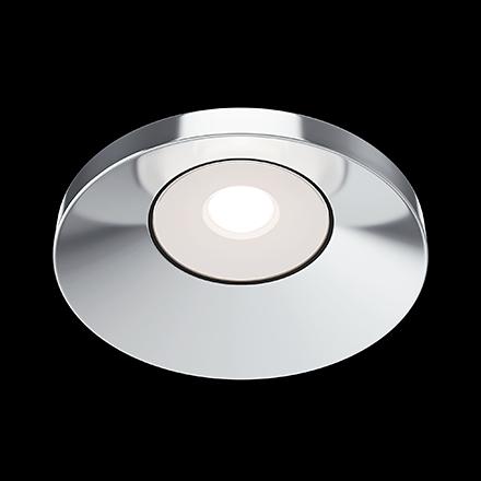Встраиваемый светильник цвет хром [Фото №2]