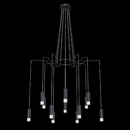 Подвесной светильник цвет черный/белый [Фото №2]