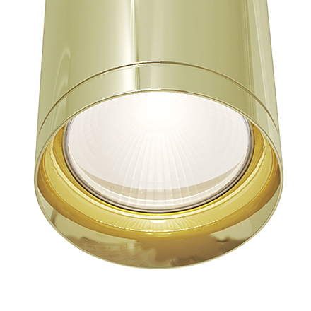 Подвесной светильник цвет золото [Фото №2]