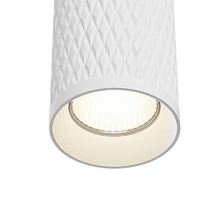 Подвесной светильник цвет белый [Фото №2]