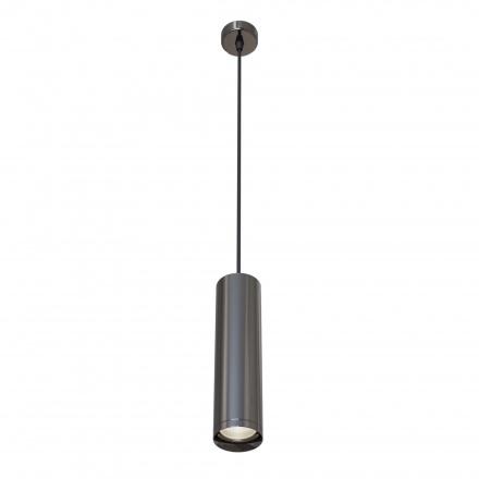 Подвесной светильник цилиндр (графит)