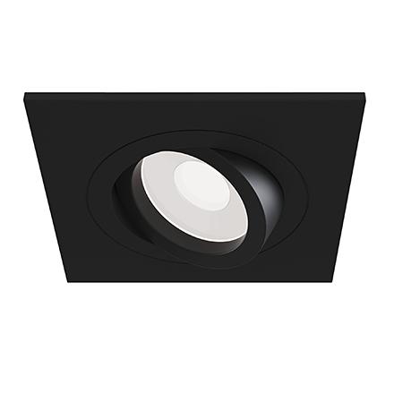 Встраиваемый светильник цвет черный [Фото №2]