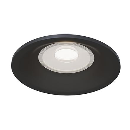 Slim 1: Встраиваемый светильник (черный)