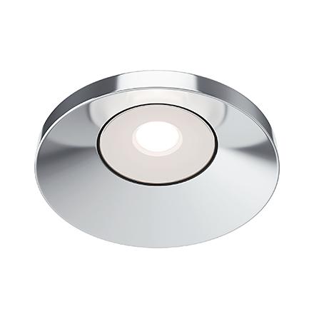 Встраиваемый светодиодный светильник (хром)