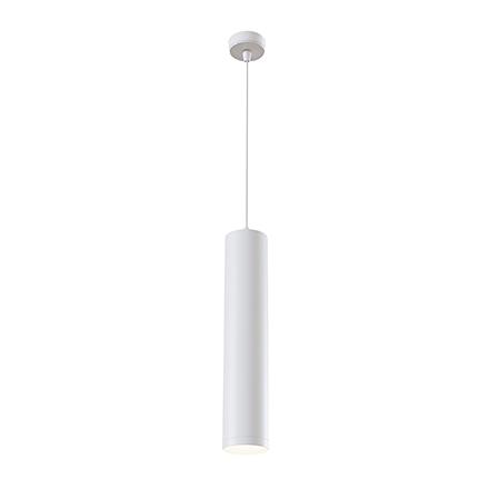 Подвесной светильник цилиндр (белый)